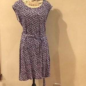 Ezra Print Dress Large